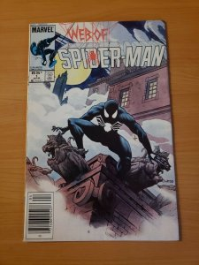 Web of Spider-Man #1 Newsstand Edition ~ NEAR MINT NM ~ (1985 Marvel Comic)