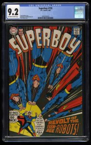 Superboy #155 CGC NM- 9.2 Off White to White Neal Adams Cover!