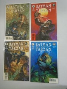 Batman Tarzan Claws of the Catwoman set #1-4 8.5 VF+ (1999 Dark Horse/DC)