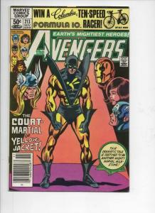 AVENGERS #213, FN/VF, Thor, Yellow Jacket, Iron Man, 1963 1981, Marvel