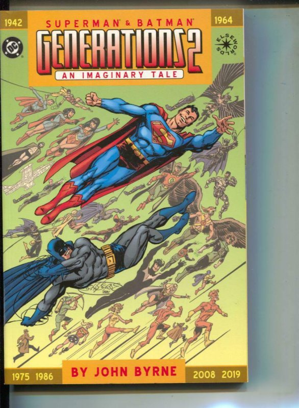 Superman & Batman: Generations II-John Byrne-TPB-trade