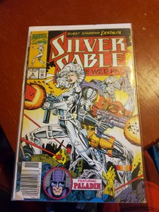 Silver Sable and the Wild Pack #6 (1992)