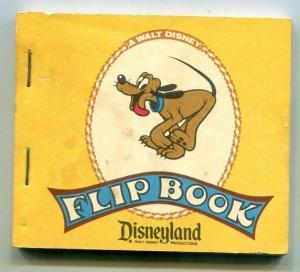 Disneyland Flip Book Pluto Running