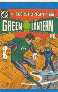 Secret Origins of Green Lantern #1 VF/NM; Leaf Candy | save on shipping - detail