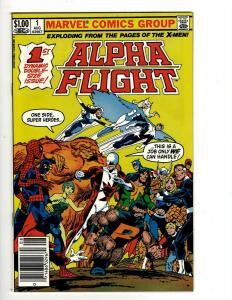 Lot of 14 Alpha Flight Marvel Comic Books #1 2 3 4 5 6 7 8 9 10 11 12 13 15 JF4