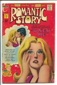 Romantic Story #119 1972-Charlton-Air brush style cover-Shirley Jones poster-VG