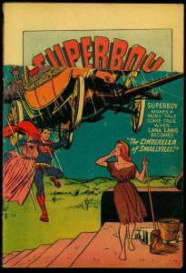 Superboy #25 1953- DC Golden Age- Dealer Return Copy FAIR