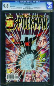 AMAZING SPIDER-MAN Vol 2 #25 2001-green goblin-CGC GRADED 9.8 0216552005