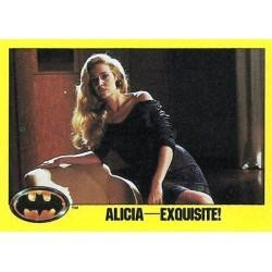 1989 Batman The Movie Series 2 Topps ALICIA-EXQUISITE #246
