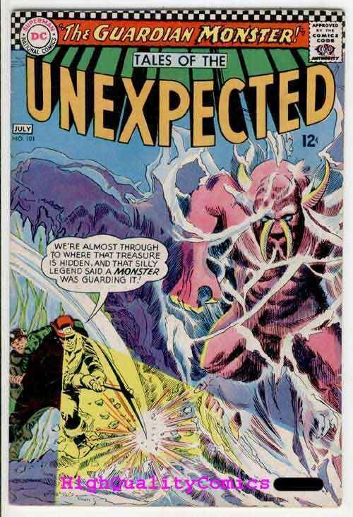TALES of the UNEXPECTED #101, Giant of Island X, 1967