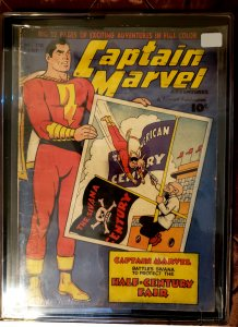 CAPTAIN MARVEL #110 - July 1950 - VF