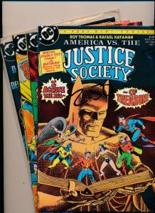 DC Comics SET  JUSTICE SOCIETY 1985 #1-#4 VERY FINE (HX756)