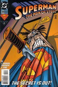 Superman: The Man of Steel #44, NM + (Stock photo)