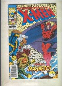 Las Nuevas Aventuras de los X Men volumen 1 numero 03 (numerado 1 en trasera)