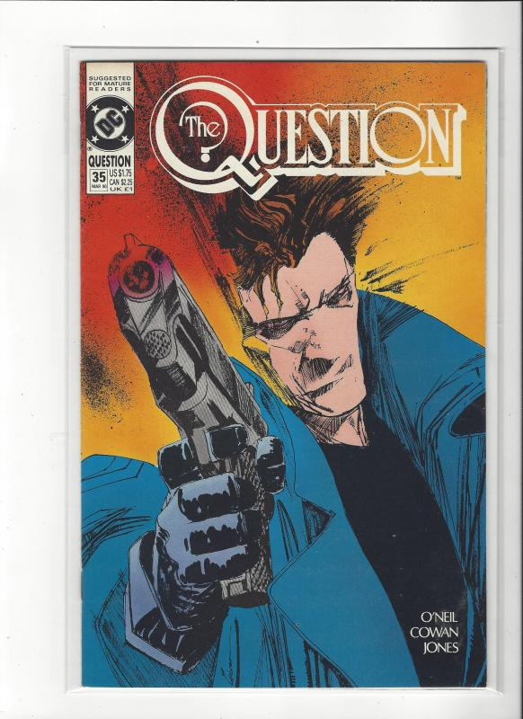 The Question #35 Mature Readers VF/NM Nice Copy