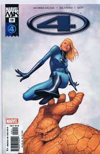 Marvel Knights 4 #19 ORIGINAL Vintage 2005 Marvel Comics GGA Invisible Woman