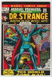 Marvel Premier #3 (Jul-72) VF+ High-Grade Dr. Strange