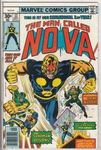 Nova, the Man Called #13 (Sep-77) GD Affordable-Grade Nova