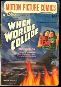 WHEN WORLD'S COLLIDE #110-MOTION PICTURE COMICS-FAWCETT VG