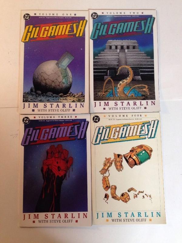 Gilgamesh 2 II 1-4 1 2 3 4 volume Complete Lot Set Run