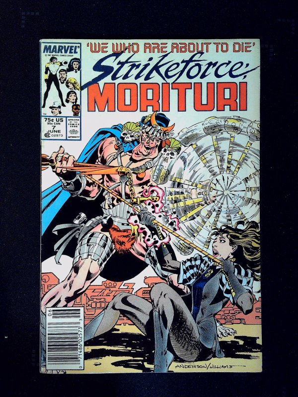 Strikeforce: Morituri #7 (1987)