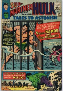 Tales to Astonish #70 ORIGINAL Vintage 1965 Marvel Comics Incredible Hulk
