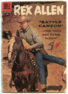 Rex Allen Comics 29 Aug 1958 FA (1.0)