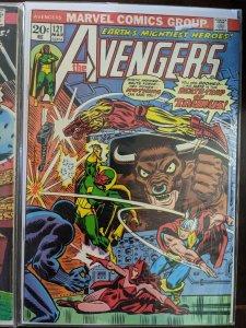 The Avengers #121. HUGE KEY!  Vf-