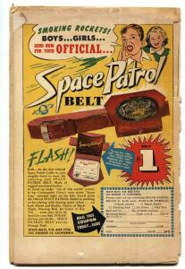 SPACE PATROL #2-comic book 1952-ZIFF DAVIS-NORMAN SAUNDERS-low grade