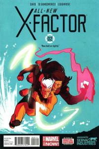 All-New X-Factor #2, NM + (Stock photo)