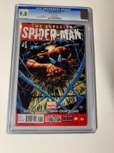 Superior Spider-man 1 Cgc 9.8 White Pages Marvel 2013
