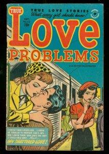 LOVE PROBLEMS #23 1953-GOOD GIRL ART-HARVEY COMICS-RARE VG