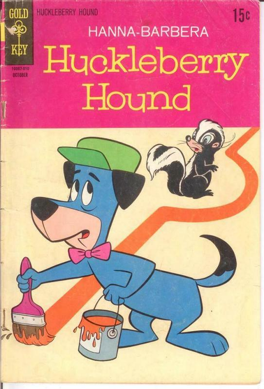 HUCKLEBERRY HOUND (1959-1970 DELL/GK) 43 GOOD 37 REPRIN COMICS BOOK