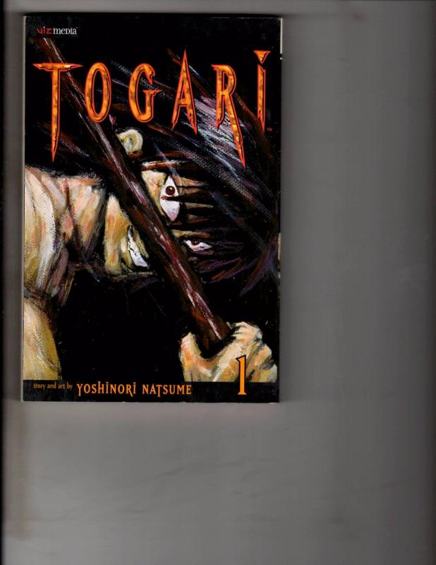Togari Volume 1 Viz Media Comic Book Manga Yoshinori Natsume Anime AB1