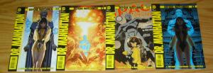 Before Watchmen: Dr. Manhattan #1-4 VF/NM complete series - straczynski - hughes