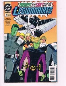 Legionnaires #8 VF DC Comic Book Bierbaum Saturn Girl Brainiac 5 1994 DE9