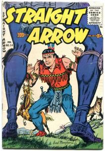 Straight Arrow #54 1956-Late issue Western Fred Meagher FN