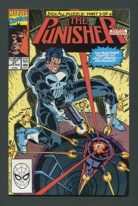 Punisher #37  / 9.0 VFN/NM   Jigsaw Part Three  August 1990