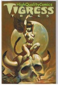 TIGRESS TALES #5, VF+, Limited, Femme, Mike Hoffman, 2001,more Variant in store