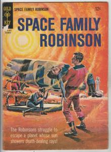 Space Family Robinson, Lost In Space #14 (Oct-65) FN/VF+ High-Grade Will Robi...