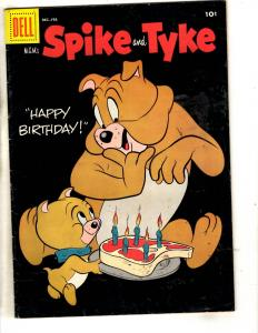 MGM's Spike And Tyke # 8 FN/VF Dell Comic Book Funny Animal Dog Cover JL1