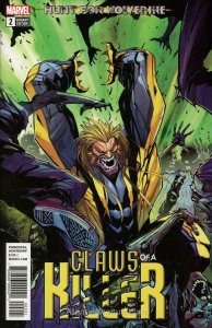 Hunt for Wolverine: Claws of a Killer #2A VF/NM; Marvel | save on shipping - det