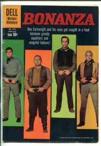 BONANZA #1110 1960-DELL-FOUR COLOR COMICS-TV SERIES-MICHAEL LANDON-vg