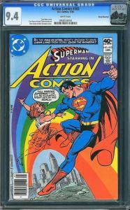 Action Comics #503 (DC, 1980) CGC 9.4