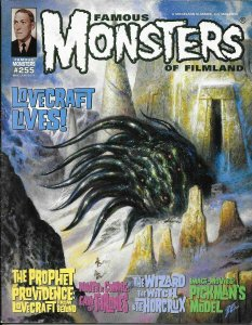 FAMOUS MONSTERS #255 UNIVERSAL MOVIELAND - H.P. LOVECRAFT HORCRUX GAME THRONES