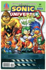 SONIC UNIVERSE #30 2011- Archie Comics- Sega  NM-