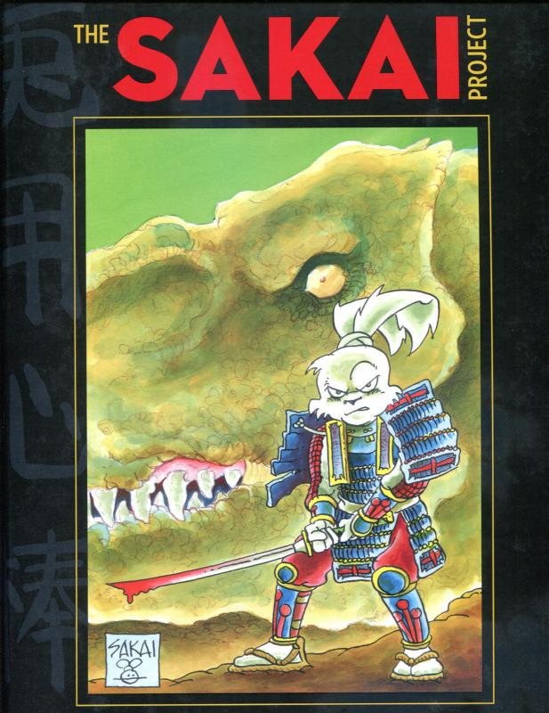 Stan SAKAI PROJECT hc, NM, hardcover book, Signed with Usagi Sketch, 2014, 1st