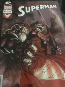 DC Universe Superman #4 Mint Hot