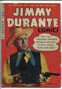 JIMMY DURANTE A-1 #20-GREAT PHOTO COVER VG