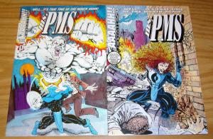 Ms. PMS #0-1 VF/NM complete series - christopher thomas swafford - bad girl set